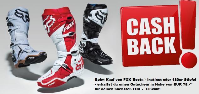 Fox Racing - 75€ Gutschein