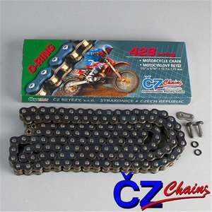 CZ Moto-Cross 428 O-Ring-Kette 136 Glieder