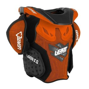 Fusion Vest LEATT 2.0 Jr #L/XL 125-150cm Orange/Black