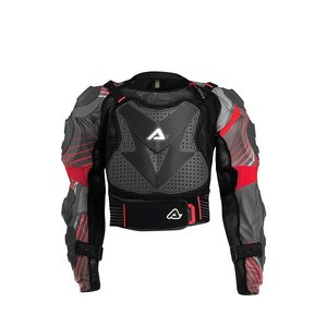 Acerbis Kids Protektorjacke Scudo 2.0 Grey/Black/Red