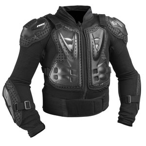 FOX YOUTH Titan Sport Jacke Brustpanzer in schwarz