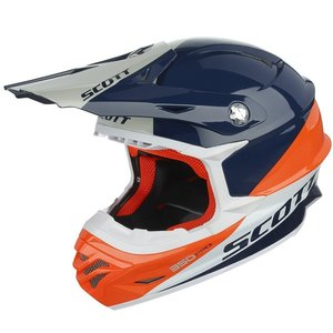 SCOTT 350 Pro Trophy ECE in blau-orange