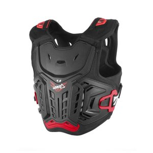 Leatt Brustpanzer 4.5 Junior Kids in schwarz-rot