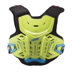 Leatt Brustpanzer 2.5 Junior Kids in lime-blau