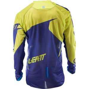 Leatt Jersey GPX 4.5 X-Flow blau lime