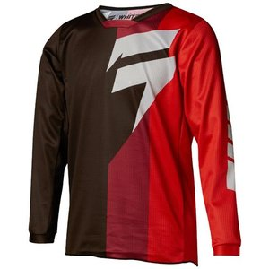 Shift WHIT3 Jugend Tarmac 2018 Jersey schwarz rot