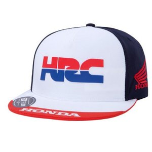 Fox PIT HRC TECH HAT Blau Rot Weiß