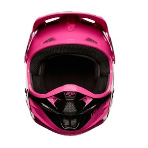 Fox V1 RACE HELM Pink