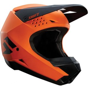 Shift White Label Helmet Orange