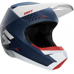 Shift White Label Helmet Blau Weiß
