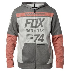Fox Fleece Zip-Hoody Draftr Schwarz