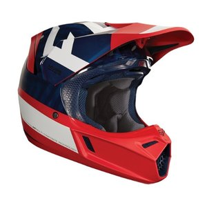 Fox Helm MVRS V3 Preest Blau Rot