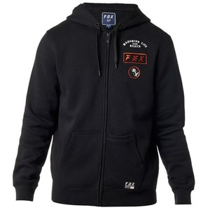 Fox District 4 Fleece Zip Schwarz