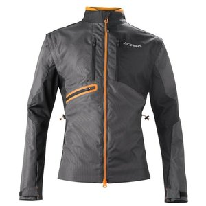 Acerbis Jacke Enduro One Schwarz Orange