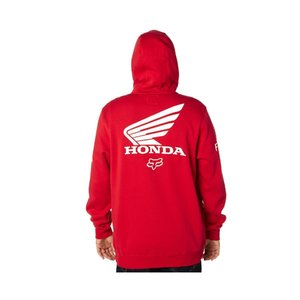 Fox Racing Honda Zip Fleece Rot