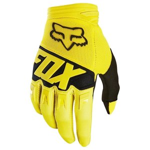 Fox DIRTPAW Race Handschuh Gelb