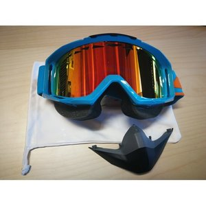 Scott Tyrant Snowcross Blau Multicolour Chrome ACS