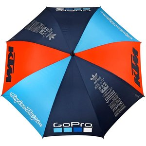Troy Lee Design KTM Team Regenschirm Umbrella Blau Orange...