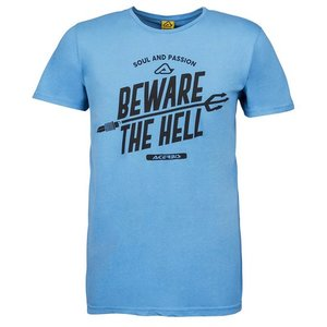 Acerbis T-shirt Beware The Hell Blau