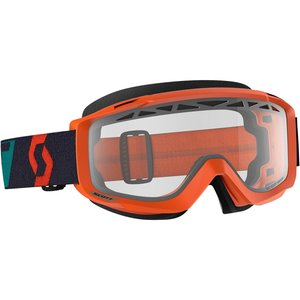 Scott MX Brille Split OTG Orange Türkis Enduro Belüftet...
