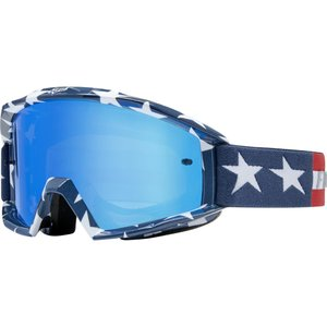 Fox MAIN GOGGLE - STRIPE  WHT/RD/BLU
