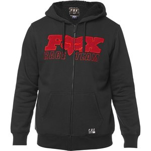 Fox Zip-Hoody Race Team Sherpa Schwarz XL