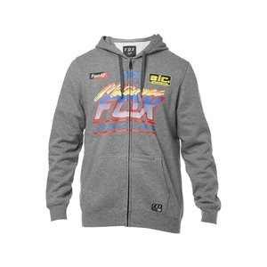 FOX Jetskee Zip Fleece Hoodie Heather Grey
