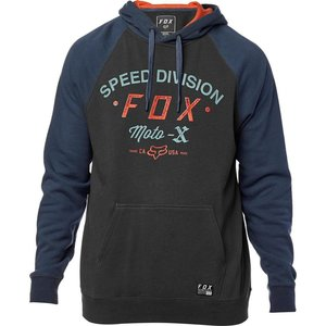 FOX Archery Pullover Fleece Hoodie Navy