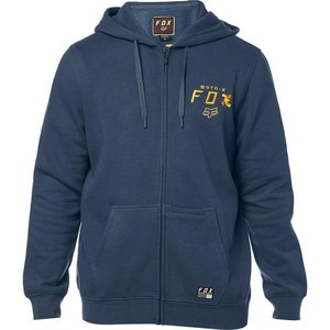 FOX Darkside Zip Fleece Hoodie Navy