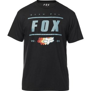 FOX Team 74 SS Tech Tee T-Shirt Schwarz