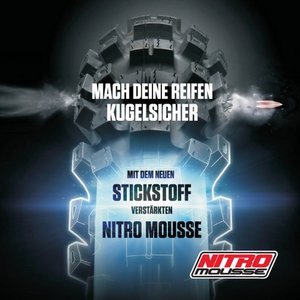 Nitro Mousse Moosgummi 21 Zoll Nuetech USA 90/100-21 Medium