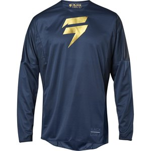 Shift Jersey 3lack Label Limited Edition Blau Gold