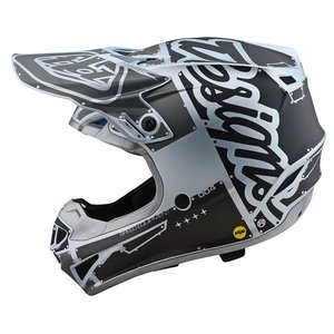 Troy Lee Designs Helm SE4 Polyacrylite MIPS Factory - Silber