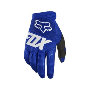 Fox DIRTPAW GLOVE - RACE [BLU/WHT]