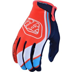 Troy Lee Designs Air Glove Handschuh Seca Orange Navy Blau