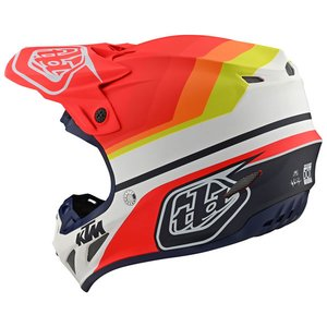 Troy Lee Designs Helm SE4 Composite KTM Mirage Weiß Rot